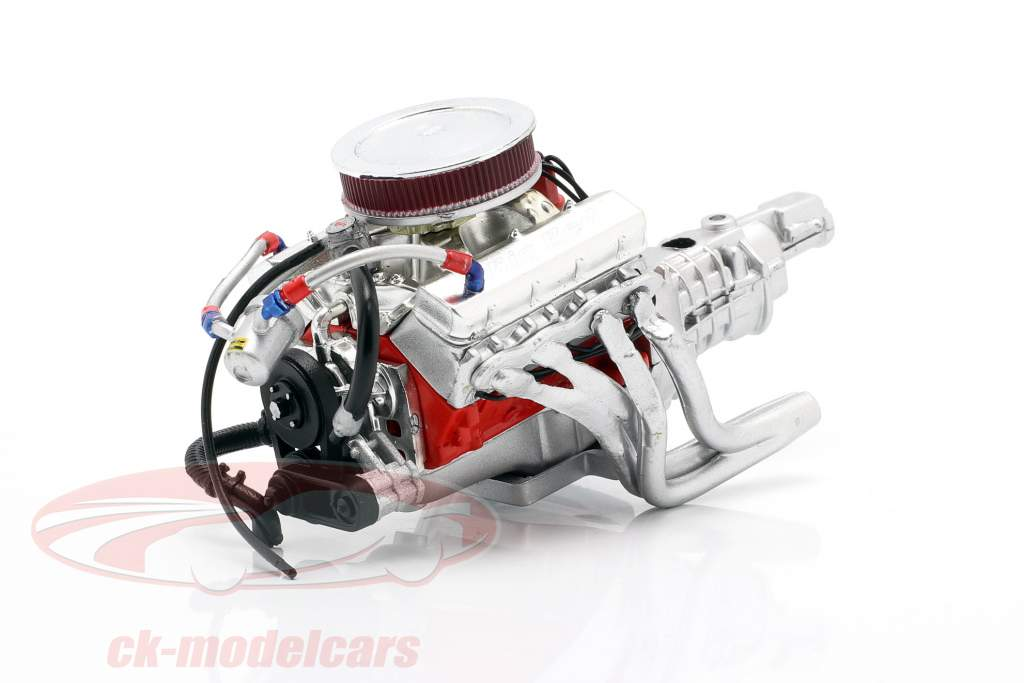 Chevrolet Camaro Big Red 427 motor og smitte 1:18 GMP