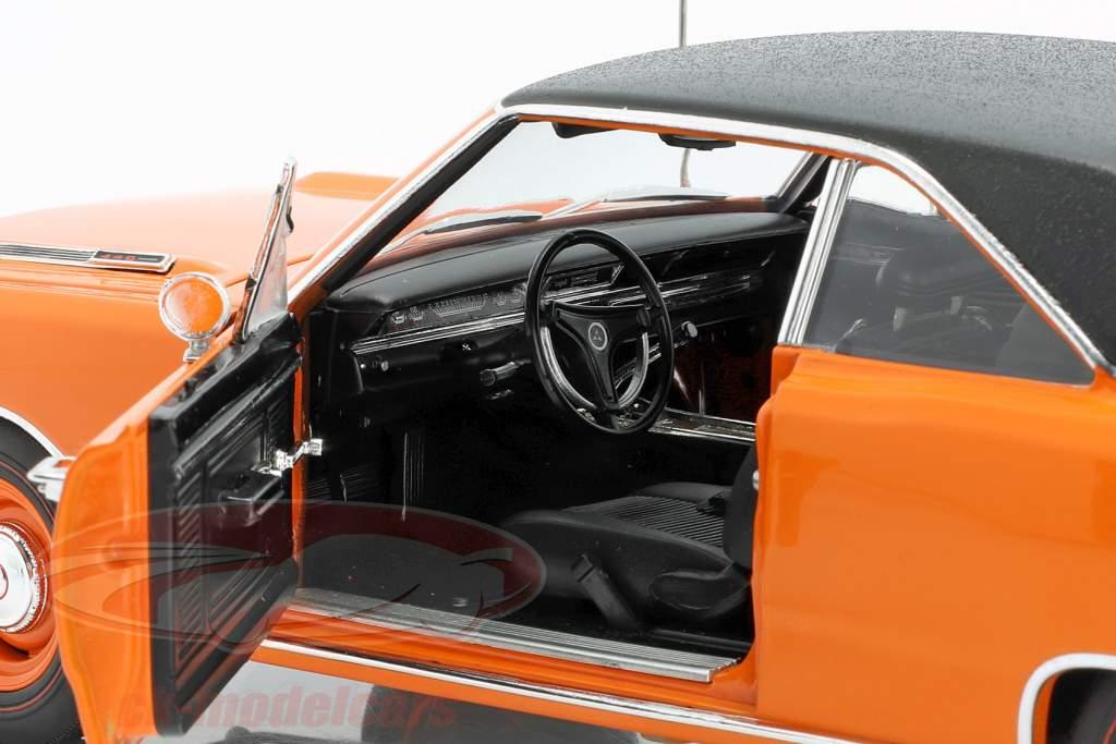 Dodge Dart GTS 440 Med Vinyl tag Byggeår 1969 orange / sort 1:18 GMP