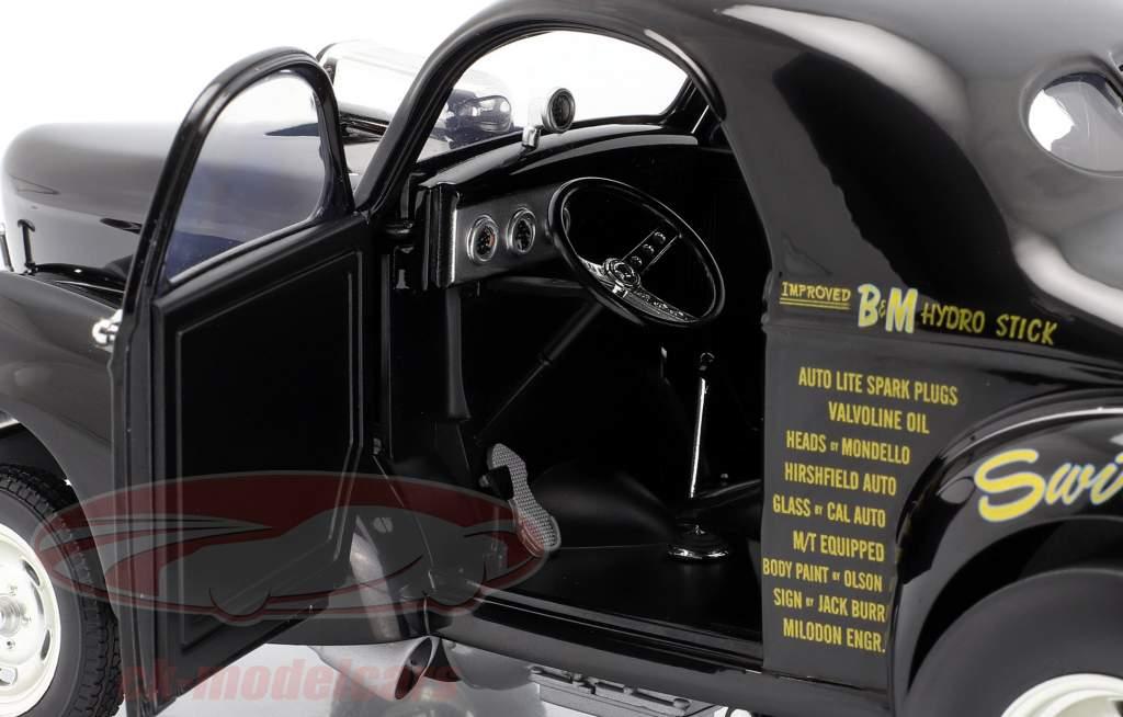 Willys Gasser Stone, Woods & Cook Byggeår 1941 sort 1:18 GMP
