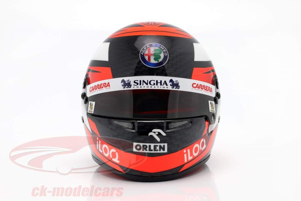 Kimi Räikkönen #7 Alfa Romeo Racing Orlen formula 1 2020 casco 1:2 Bell