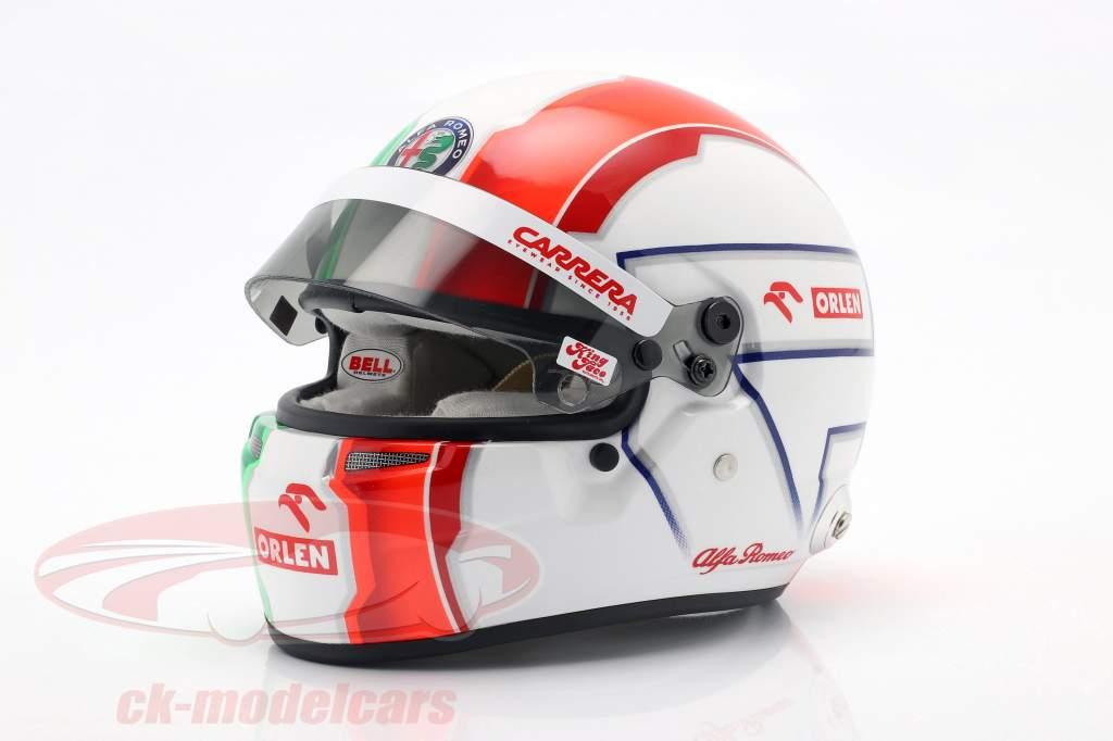 Antonio Giovinazzi #99 Alfa Romeo Racing Orlen formula 1 2020 helmet 1:2 Bell
