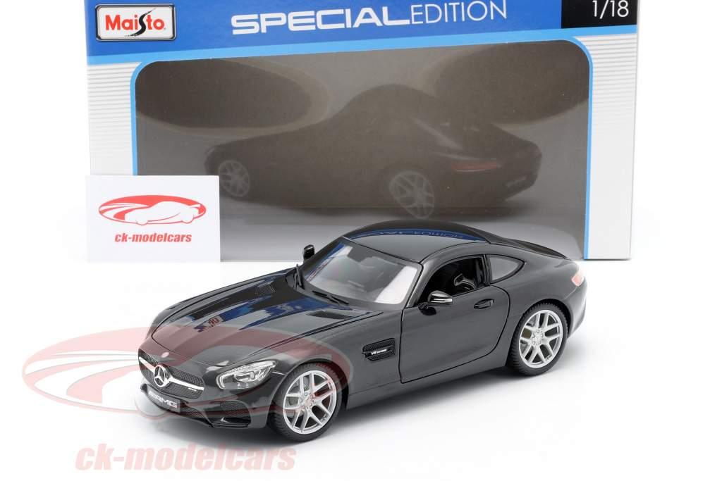 Mercedes-Benz AMG GT (C190) zwart metalen 1:18 Maisto