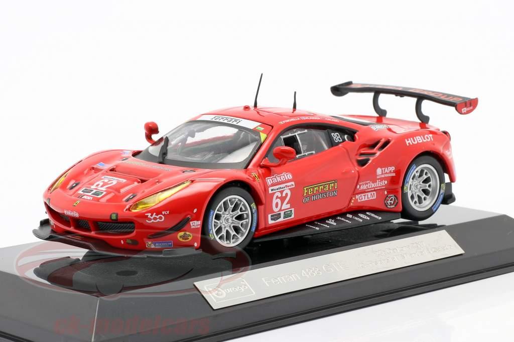 Ferrari 488 GTE #62 7th 24h Daytona 2017 Fisichella, Vilander, Calado 1:43 Bburago