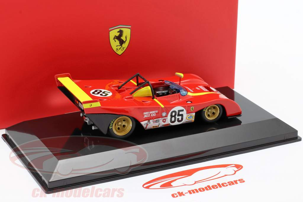 Ferrari 312P #85 Gagnant 6h Watkins Glen 1972 Ickx, Andretti 1:43 Bburago