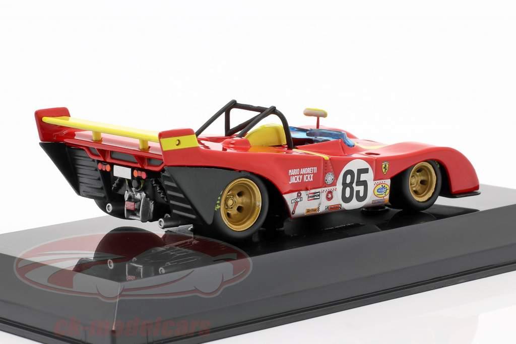 Ferrari 312P #85 Winner 6h Watkins Glen 1972 Ickx, Andretti 1:43 Bburago