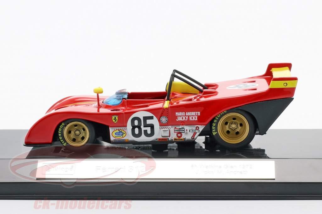 Ferrari 312P #85 优胜者 6h Watkins Glen 1972 Ickx, Andretti 1:43 Bburago