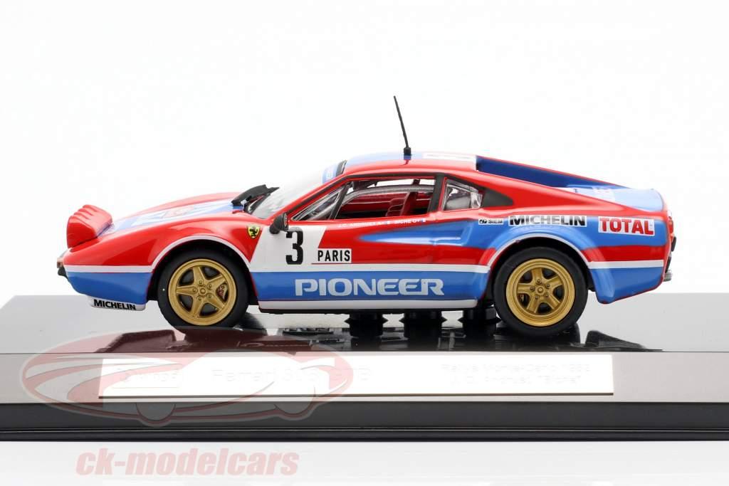 Ferrari 308 GTB #3 Rallye Monte Carlo 1982 Andruet, Biche 1:43 Bburago