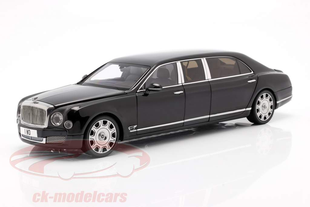 Bentley Mulsanne Grand Limousine by Mulliner 2017 onyx sort 1:18 Almost Real