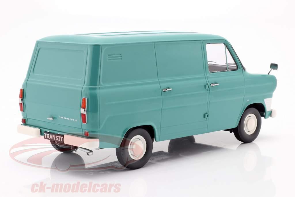 Ford Transit MK1 Lieferwagen Baujahr 1965 türkis 1:18 KK-Scale