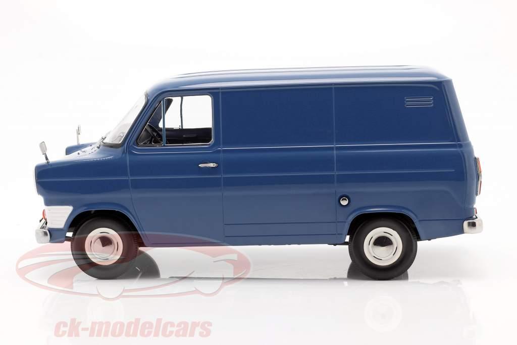Ford Transit MK1 Van year 1965 blue 1:18 KK-Scale