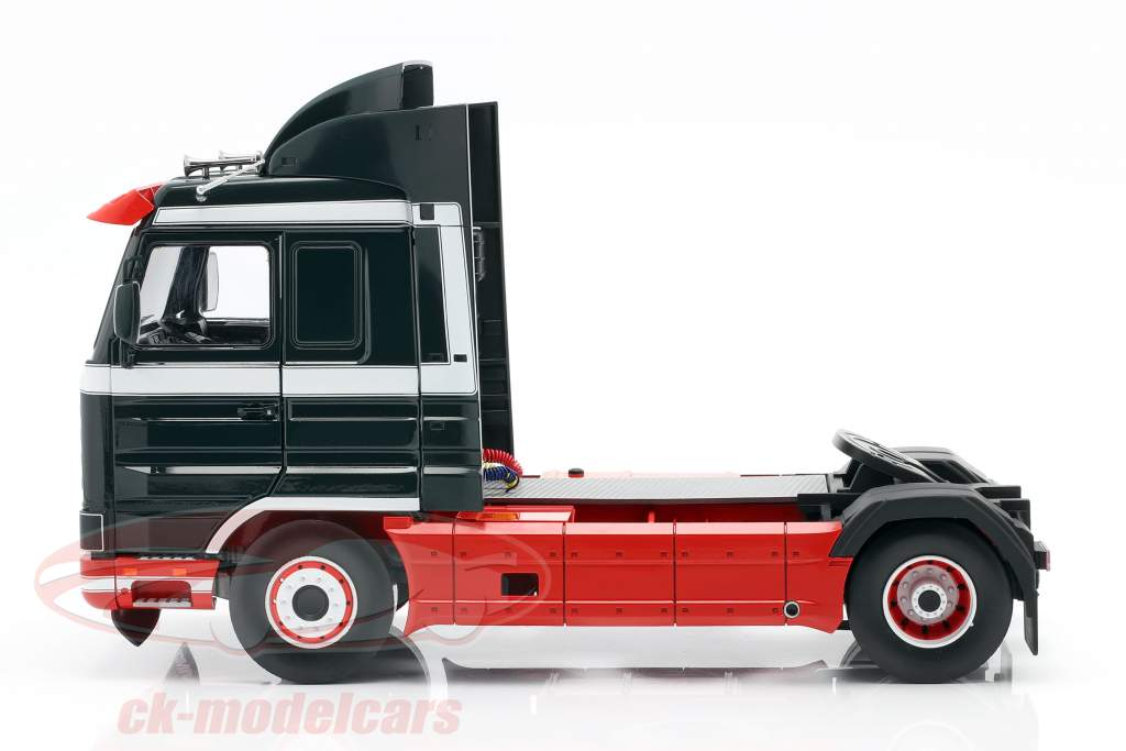 Scania 143 Streamline un camion 1995 vert foncé / rouge / blanc 1:18 Road Kings