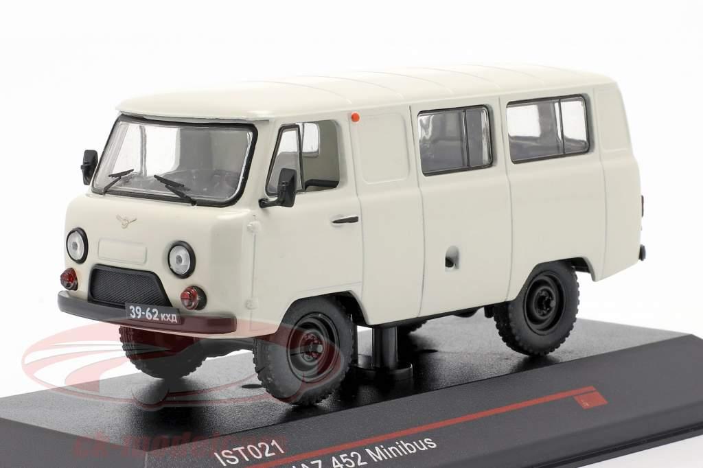 UAZ 452 microbús Año de construcción 1980 Blanco 1:43 IST-Models