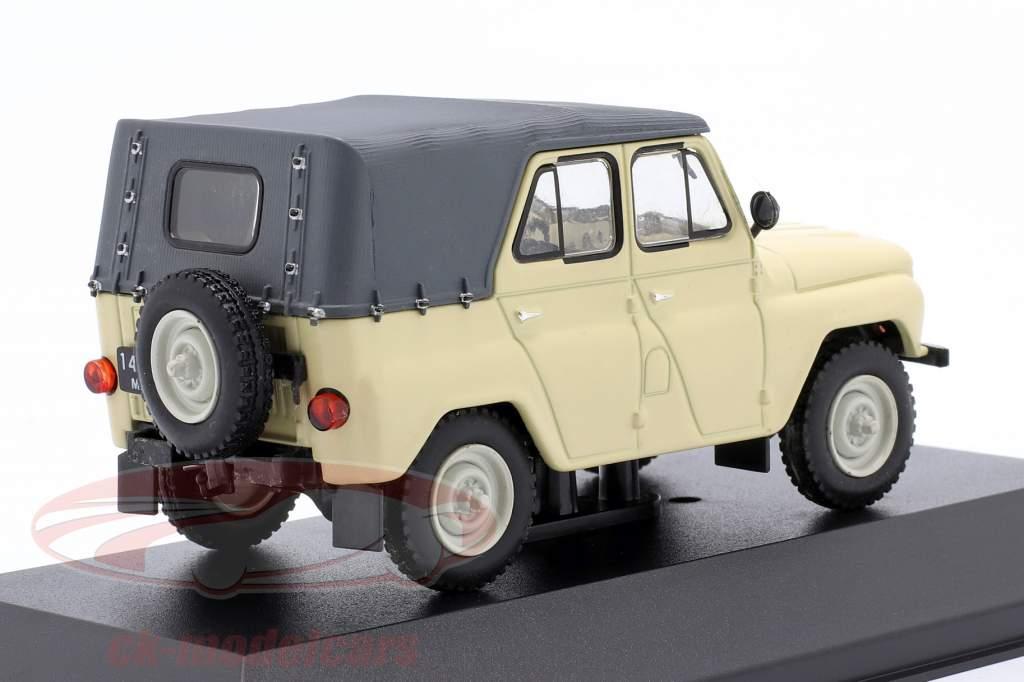 UAZ 469 Jeep Byggeår 1975 beige 1:43 IST-Models