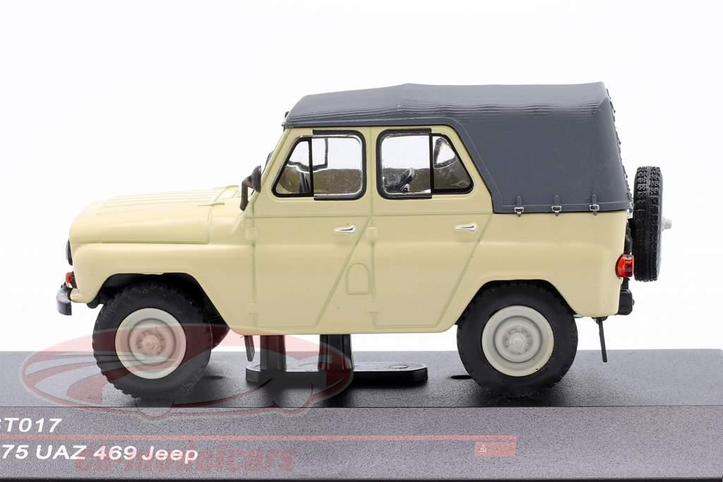 UAZ 469 Jeep Anno di costruzione 1975 beige 1:43 IST-Models