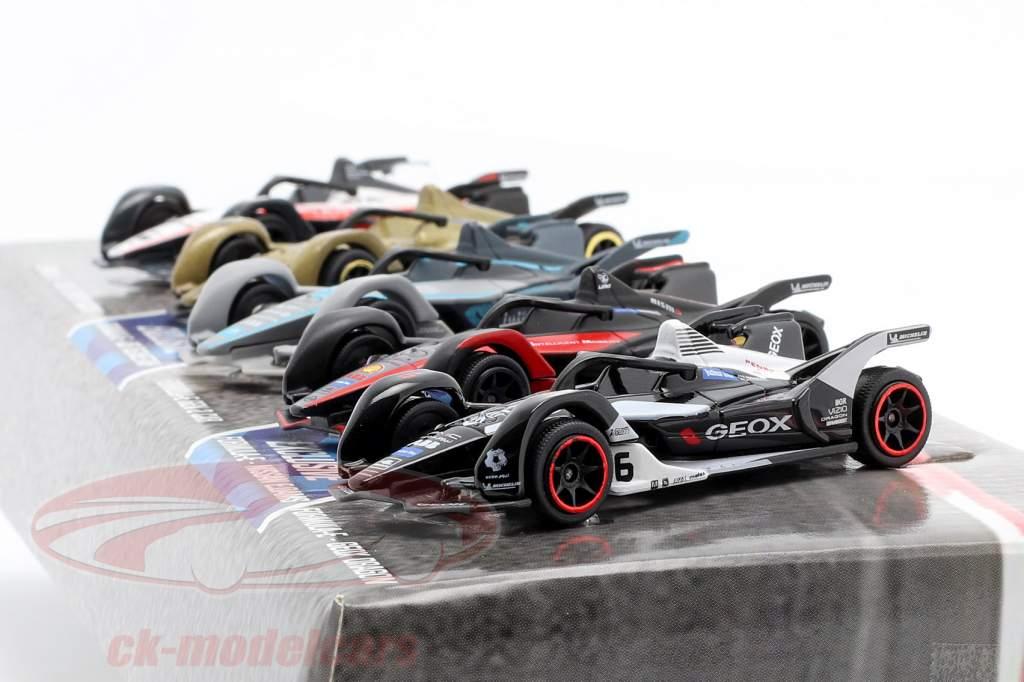 5-Car Set formule E Gen 2 Cadeaupakket 1:64 Majorette