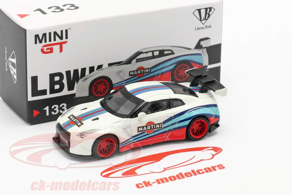 LB-Works Nissan GT-R (R35) Type 1 LHD Martini Racing 1:64 TrueScale