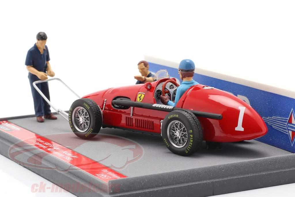Alberto Ascari Ferrari 500 F2 #1 alemão GP F1 Campeão mundial 1953 1:43 Brumm
