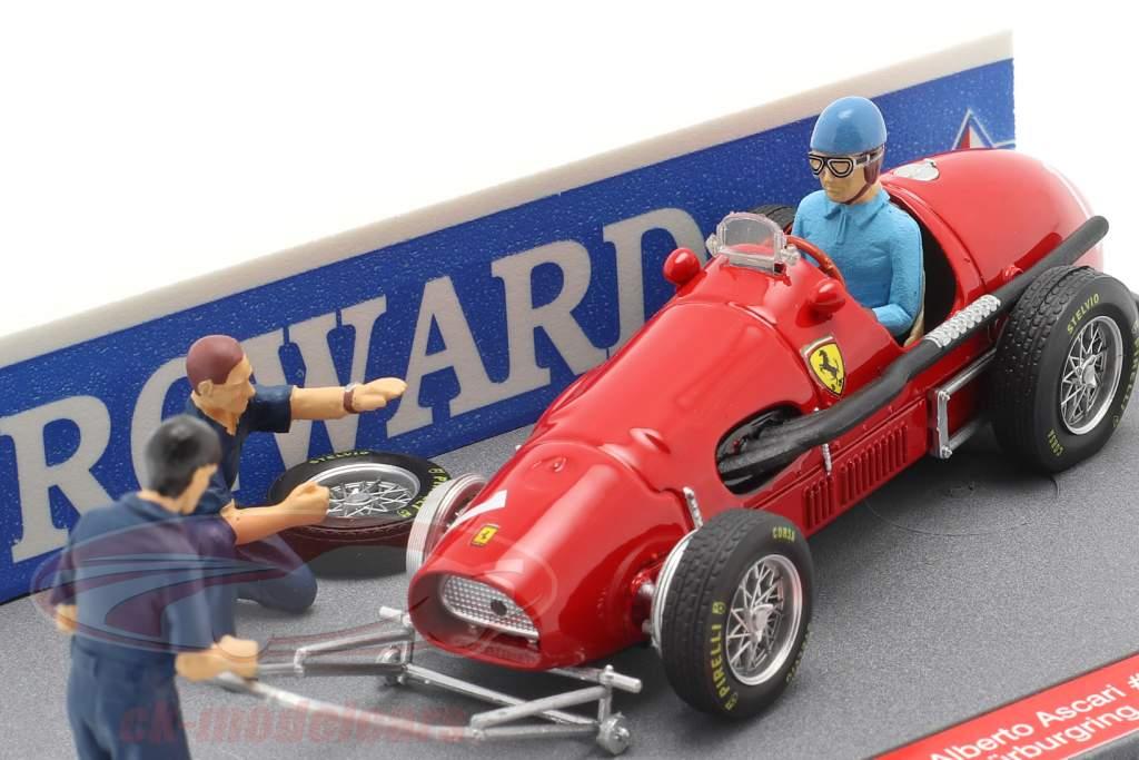 Alberto Ascari Ferrari 500 F2 #1 Duitse GP F1 Wereldkampioen 1953 1:43 Brumm