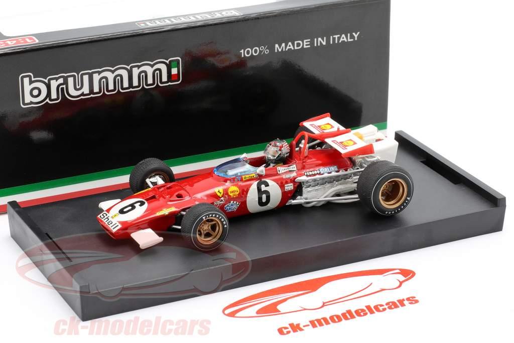 I. Giunti Ferrari 312B #6 GP Italië Formel 1 1970 1:43 Brumm