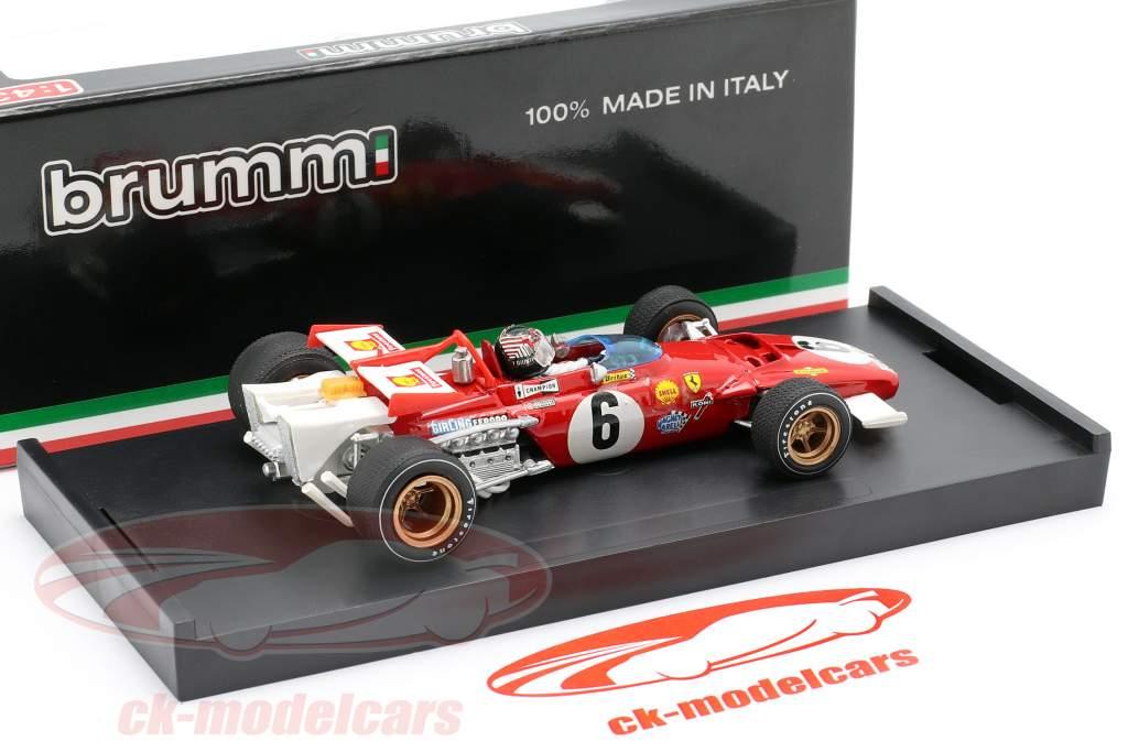 I. Giunti Ferrari 312B #6 GP Italie Formel 1 1970 1:43 Brumm