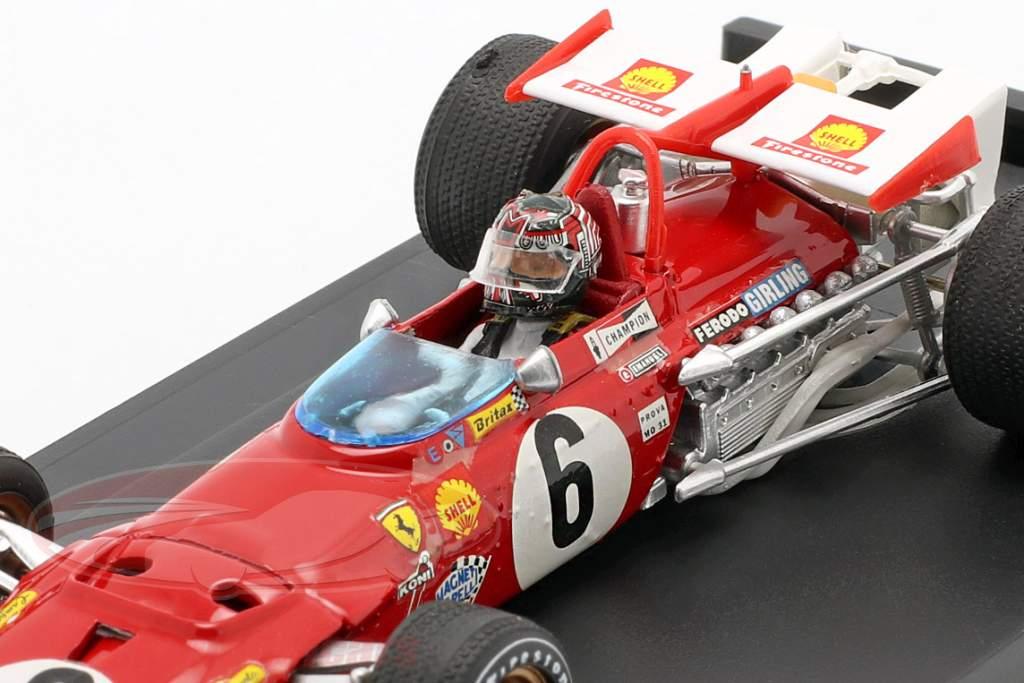 I. Giunti Ferrari 312B #6 GP Italien Formel 1 1970 1:43 Brumm