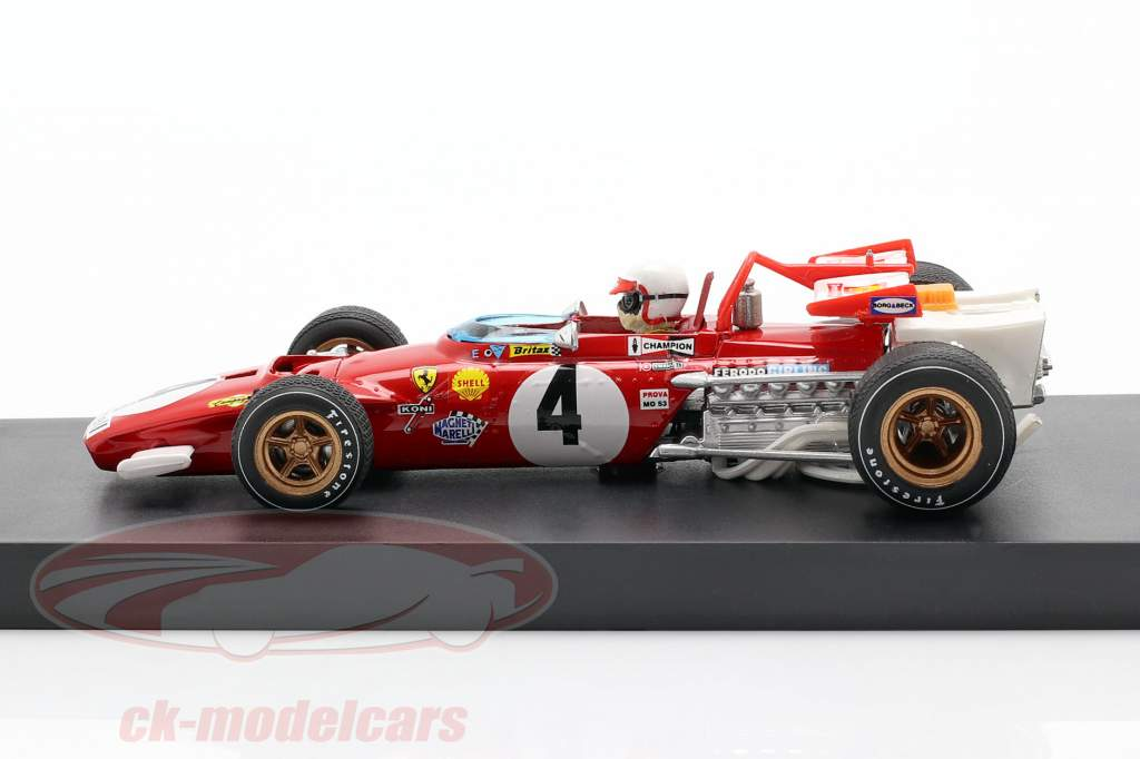 C. Regazzoni Ferrari 312 B #4 formula 1 Italian GP 1970 1:43 Brumm