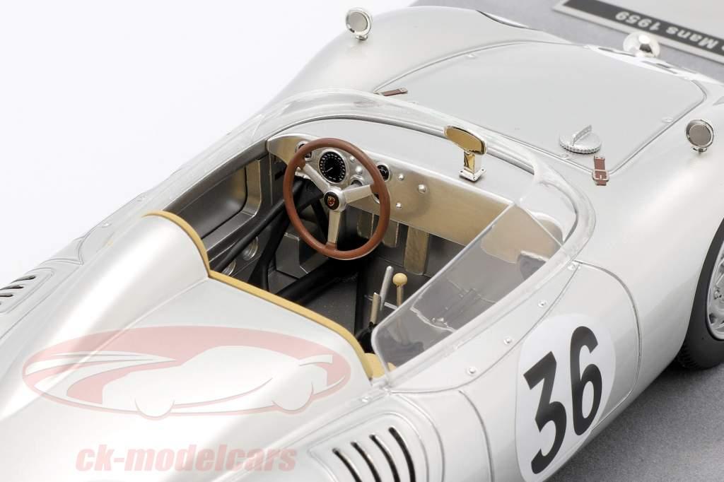 Porsche 718 RSK #36 24h LeMans 1959 de Beaufort, Heins 1:18 Tecnomodel
