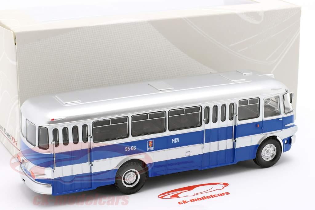 Ikarus 620 autobús BKV Budapest 1961 azul / plata 1:43 Premium ClassiXXs