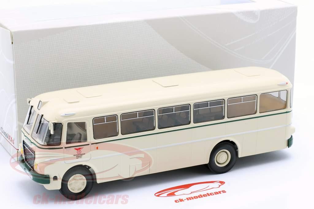 Ikarus 620 ônibus VEB Kraftverkehr Eisenach 1961 bege 1:43 Premium ClassiXXs