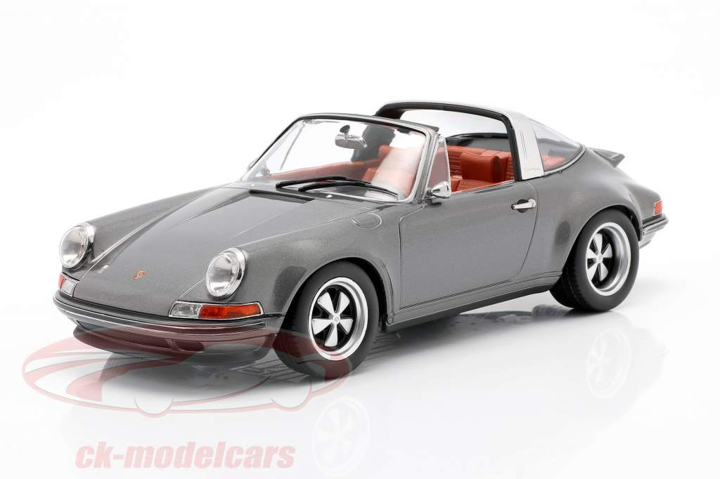 Porsche 911 Targa Singer Design antracita 1:18 KK-Scale
