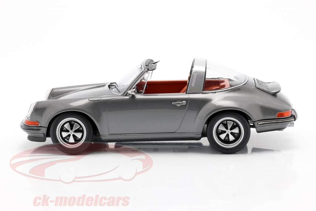 Porsche 911 Targa Singer Design anthrazit 1:18 KK-Scale