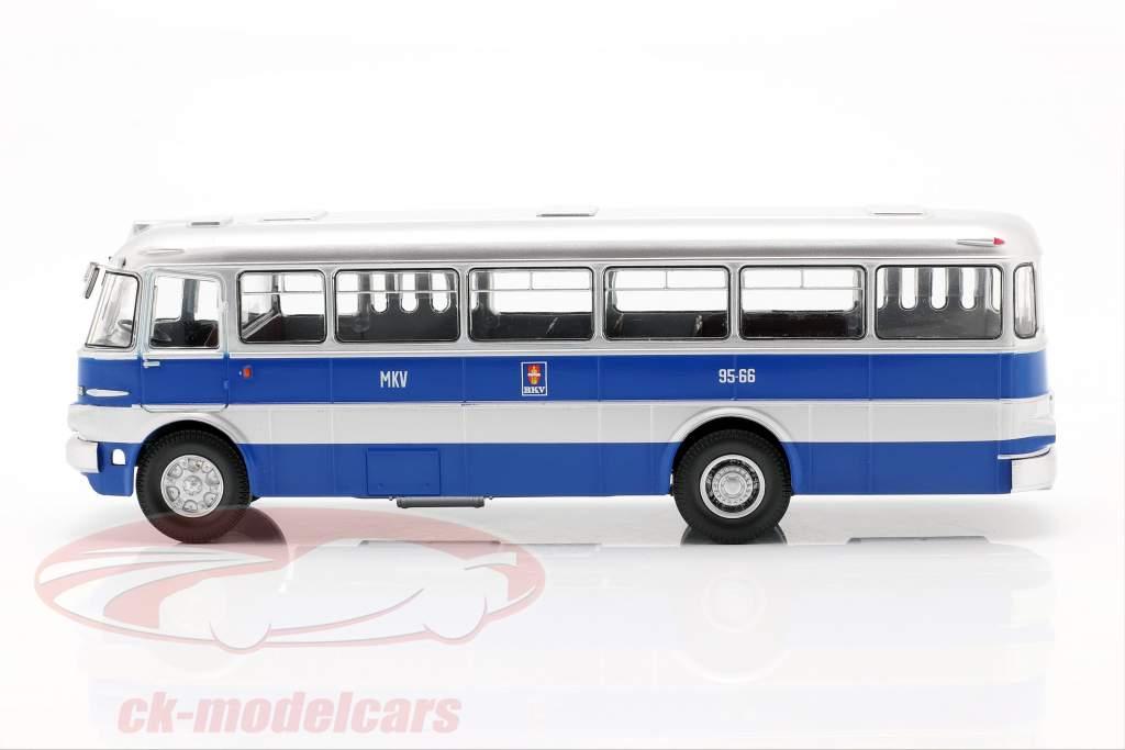 Ikarus 620 ônibus BKV Budapest 1961 azul / prata 1:43 Premium ClassiXXs