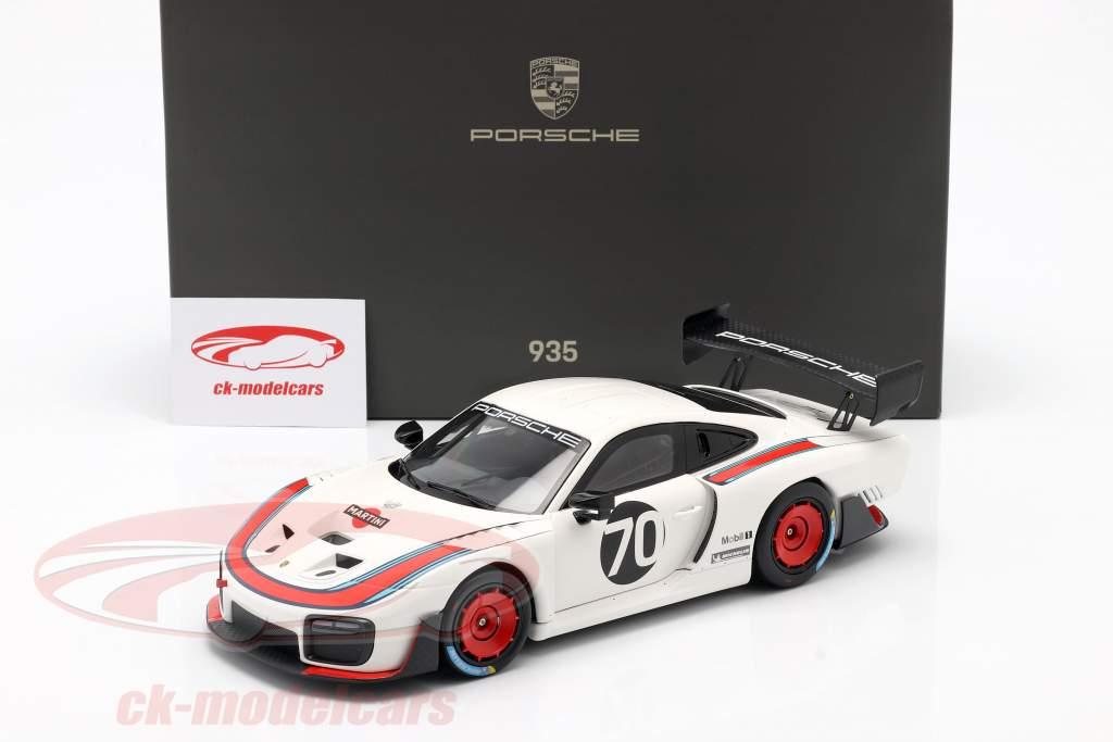 Porsche 935/19 #70 Sediada em 911 (991 II) GT2 RS 1:18 Minichamps