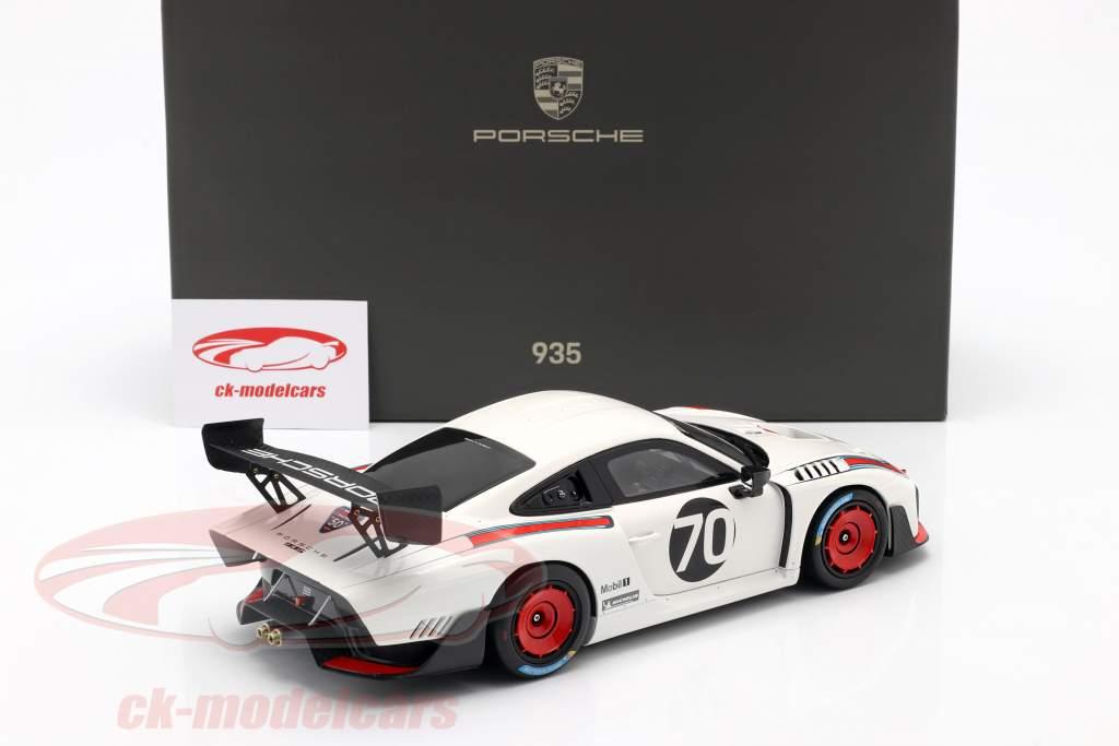 Porsche 935/19 #70 baseret på 911 (991 II) GT2 RS 1:18 Minichamps