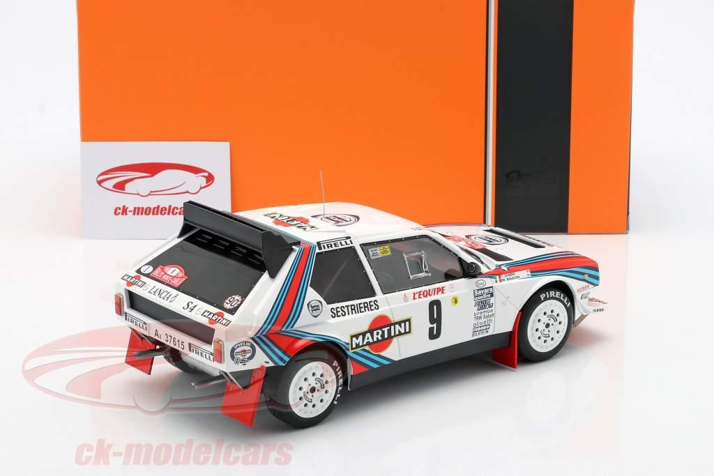 Lancia Delta S4 #9 Rallye Monte Carlo 1986 Biasion, Siviero 1:18 Ixo