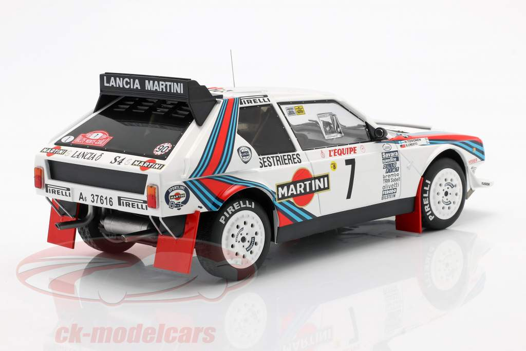 Lancia Delta S4 #7 Sieger Rallye Monte Carlo 1986 Toivonen, Cresto 1:18 Ixo