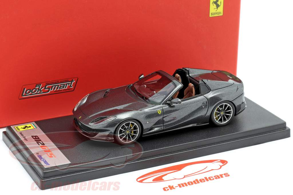 Ferrari 812 GTS Spider Baujahr 2019 Silverstone grau 1:43 LookSmart