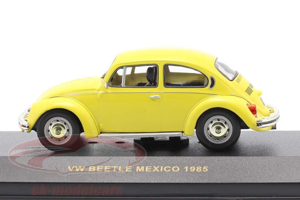 Volkswagen VW Beetle Mexico Baujahr 1985 gelb 1:43 Ixo