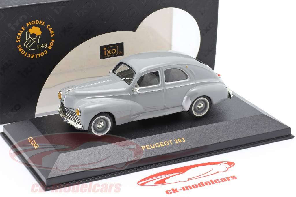 Peugeot 203 Baujahr 1955 hellgrau 1:43 Ixo