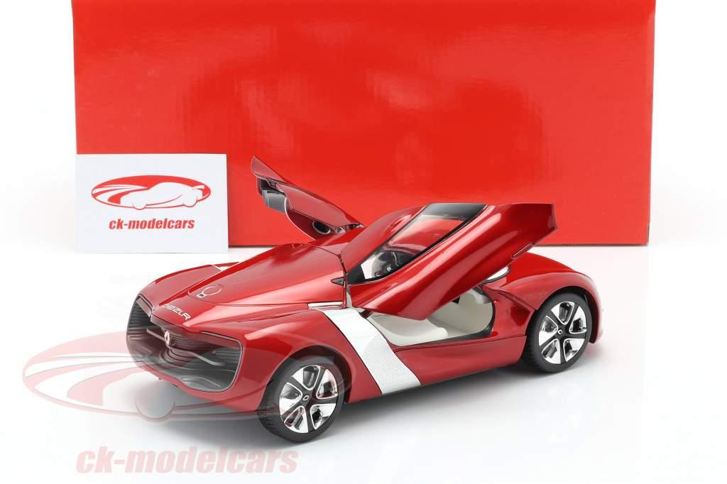 Renault DeZir Concept Car Autosalon Paris 2010 rosso metallico 1:18 KengFai