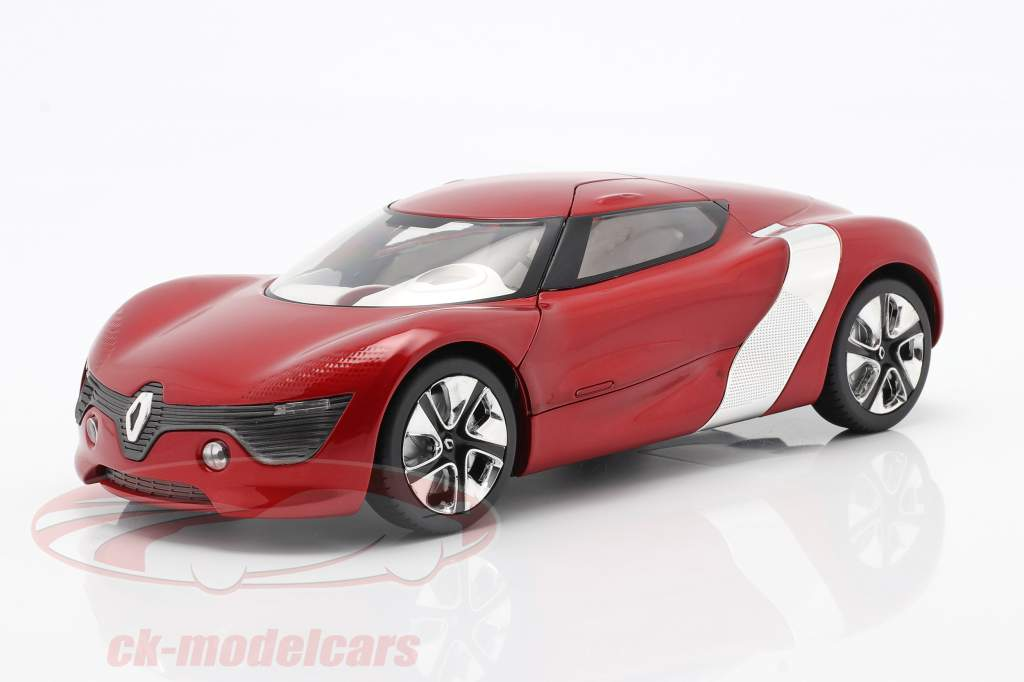 Renault DeZir Concept Car Autosalon Paris 2010 red metallic 1:18 KengFai