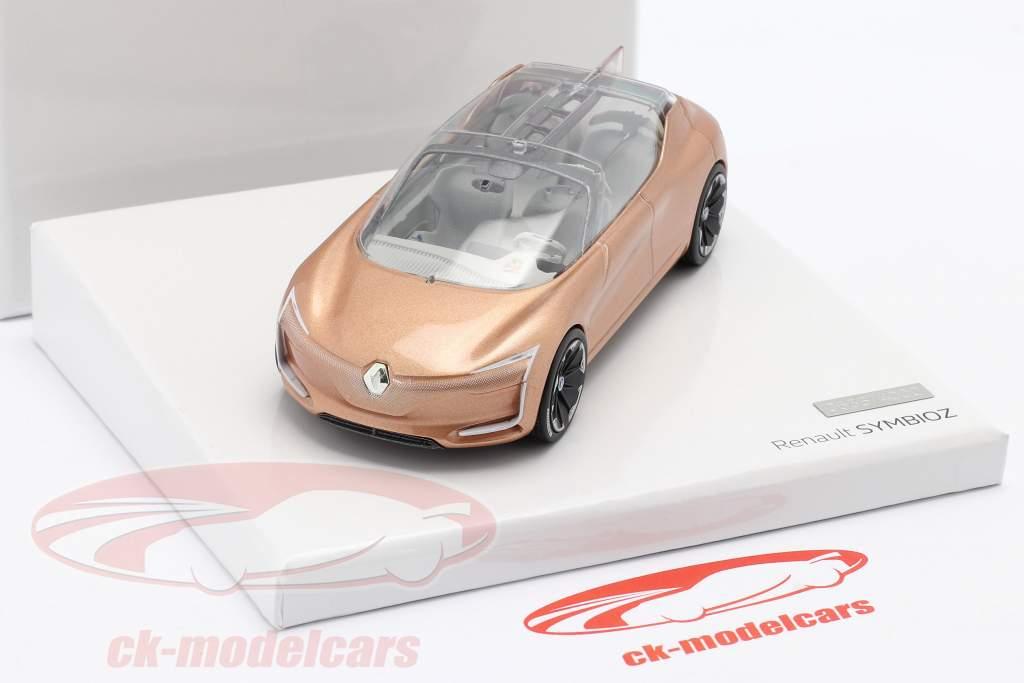 Renault Symbioz Concept Car IAA Francoforte 2017 rosa oro metallico 1:43 Norev