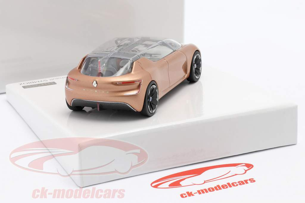 Renault Symbioz Concept Car IAA Francfort 2017 Rose or métallique 1:43 Norev