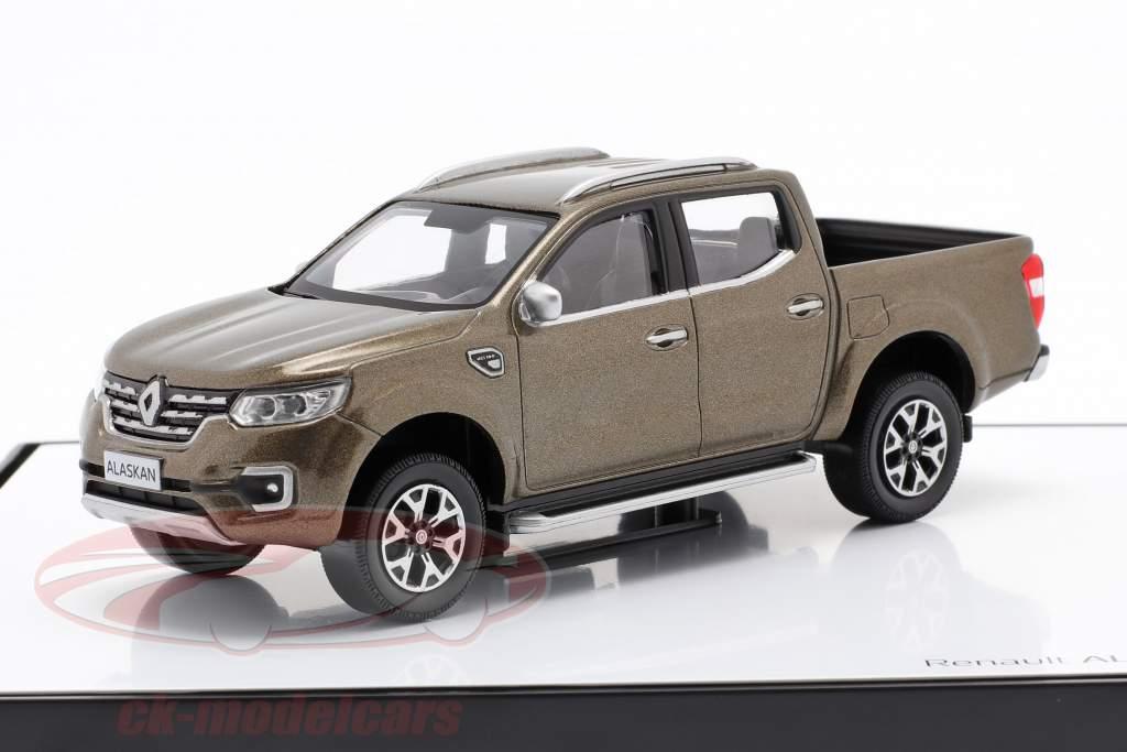 Renault Alaskan Anno di costruzione 2017 Marrone metallico 1:43 Norev