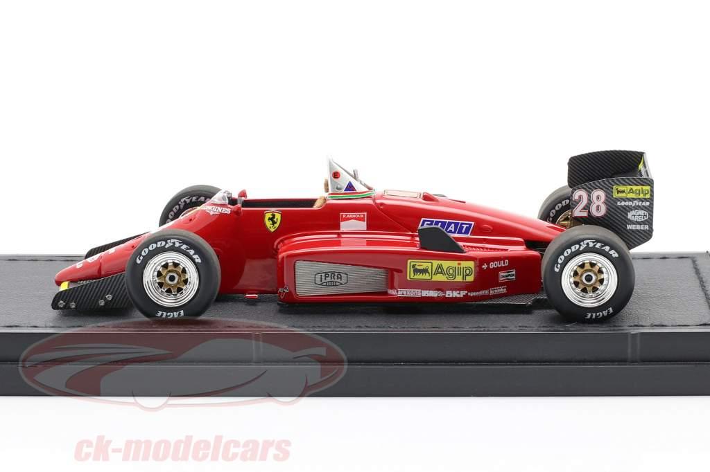 Rene Arnoux Ferrari 156/85 #28 Formel 1 1985 1:43 GP Replicas