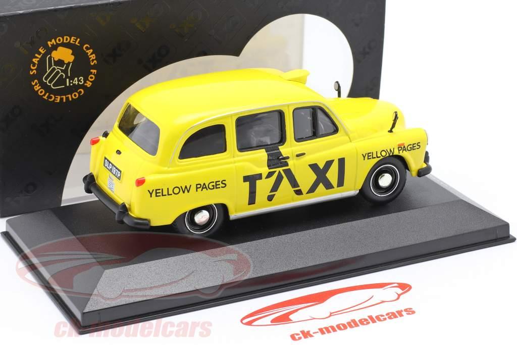 Austin FX4 London Taxi Baujahr 1985 gelb 1:43 Ixo