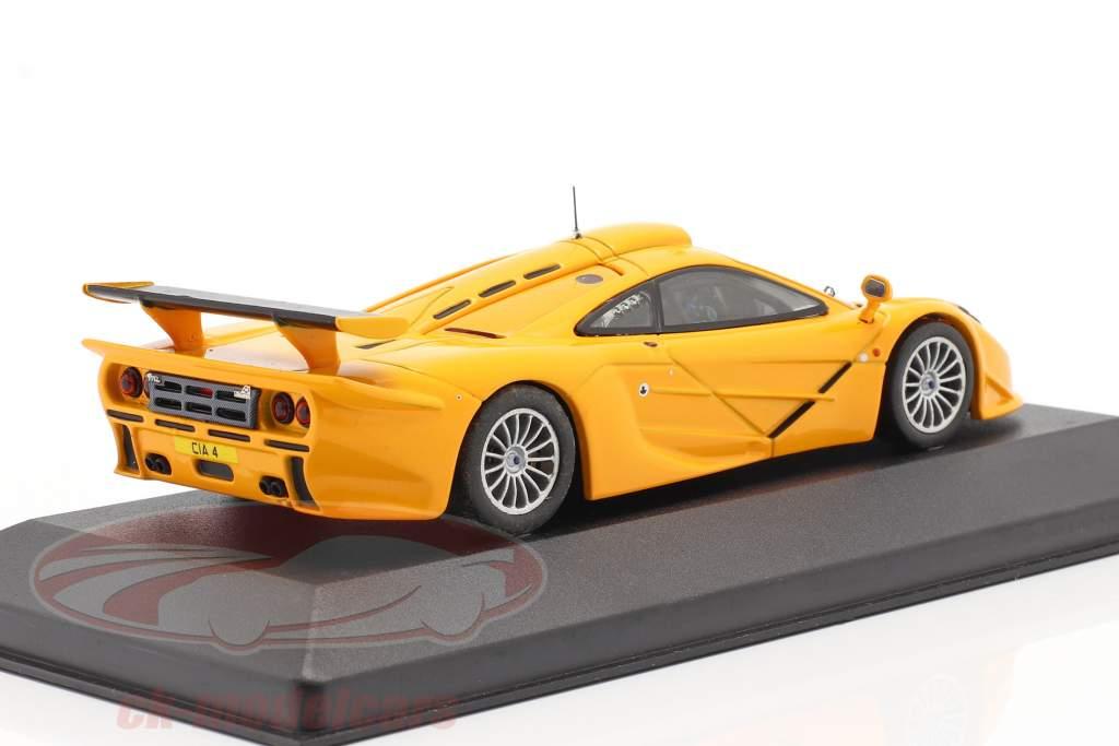 McLaren F1 GTR Long Tail Baujahr 1996 orange 1:43 Ixo