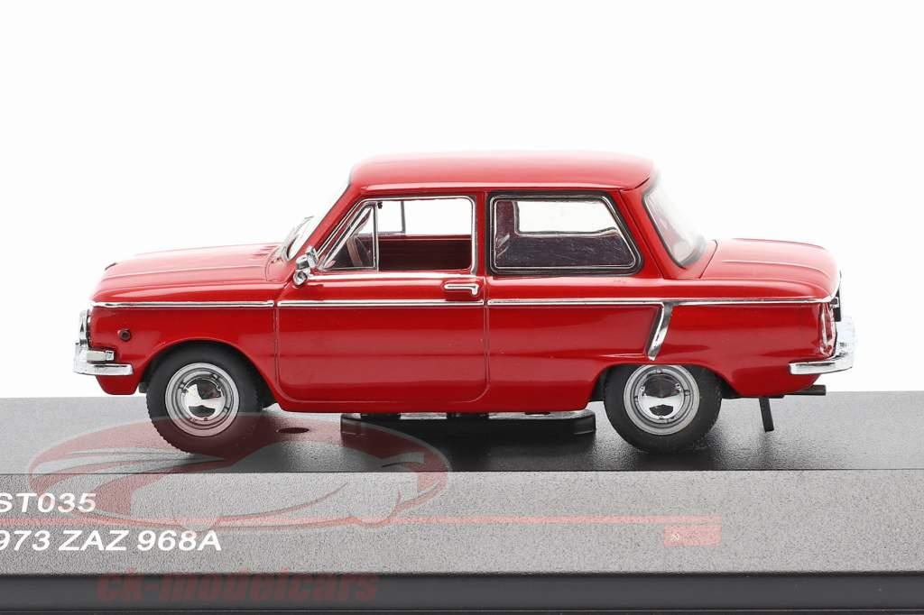 ZAZ 968A år 1973 rød 1:43 IST-Models