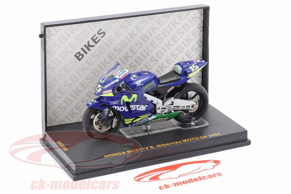 Sete Gibernau Honda RC211V #15 MotoGP 2005 1:25 Ixo
