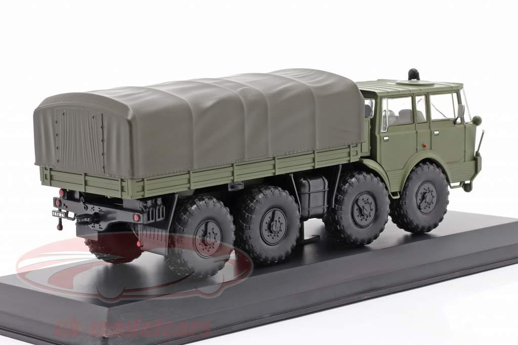 Tatra 813 8x8 Kolos Militärfahrzeug Baujahr 1968 olivgrün 1:43 Ixo